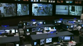 Houston's Mission Control Center takes over the mission