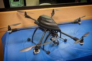 ROV-5 UAV on display
