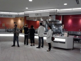 One of two ordering areas