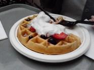 My mom's waffle