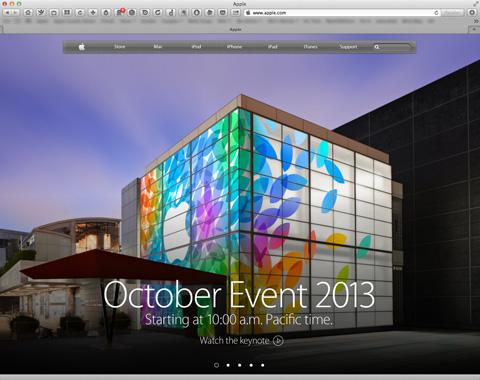 Apple Event01 10-22-13