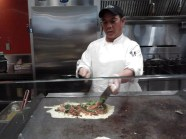 Making my omelet