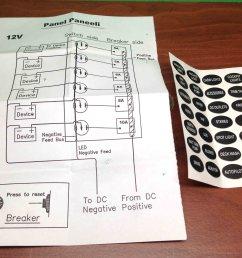 4 Gang Wiring Diagram - switch panel marine 6 wiring diagram ...  Gang Switch Panel Wiring Diagram Boats on