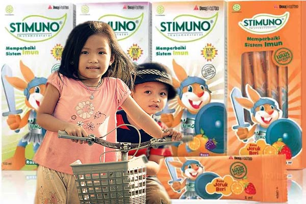 Stimuno Untuk Balita Sebagai Penguat Sistem Imun