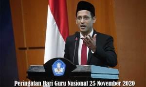 Peringatan Hari Guru Nasional 25 November 2020