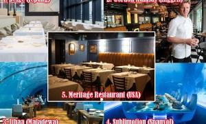 Restoran Mewah di Dunia