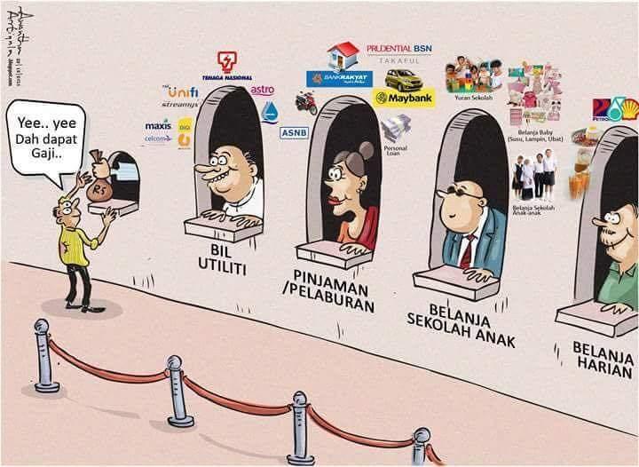 dilema gaji rendah