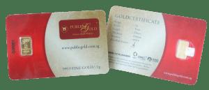 public gold 1 gram classic