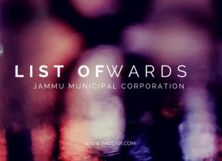 wards of jammu