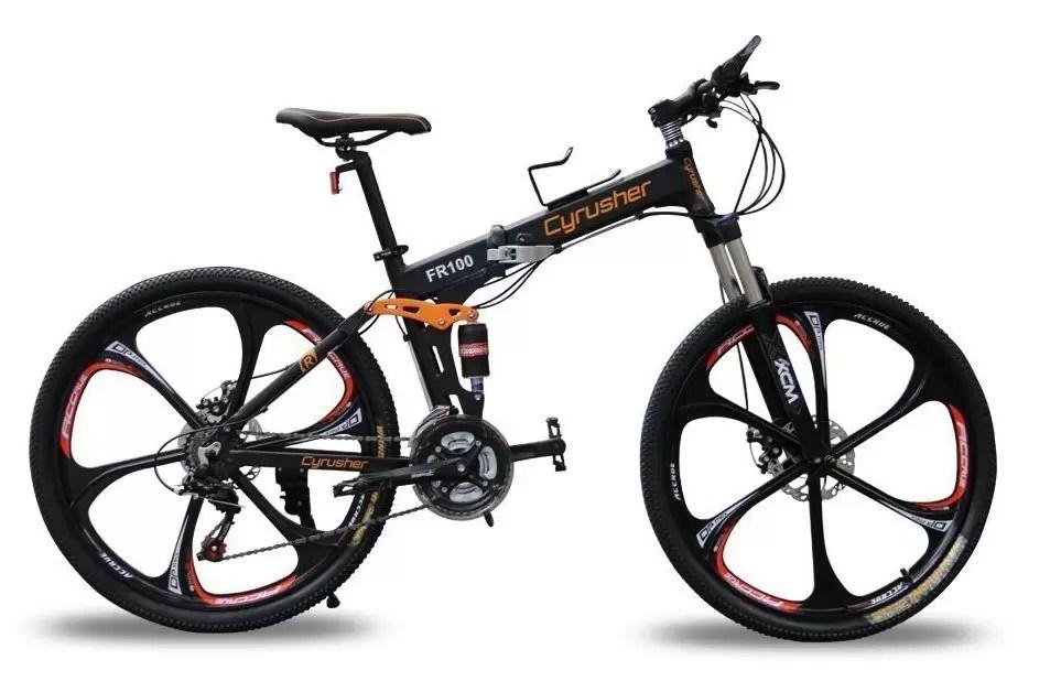 best foldable mountain bike 2018