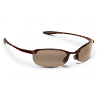 Maui Jim Makaha Sunglasses, Tortoise Frames with Maui Rose Lenses Brown