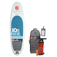 Red Paddle Co. 10'8 Ride Inflatable Stand Up Paddleboard 2016 Series