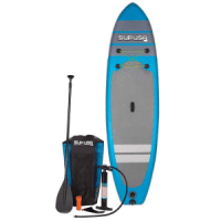 """Sup Usa 10'6"""" Inflatable Stand-Up Paddleboard Package"""