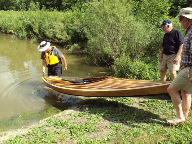 Rod Jenkins kayak launch