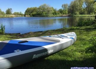 Aquaglide Cascade 11' inflatable standup paddleboard