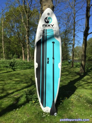 Nixy Newport G2 10'6 inflatable standup paddleboard SUP