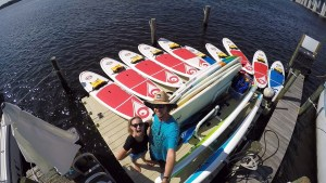 Paddles By the Sea Dock