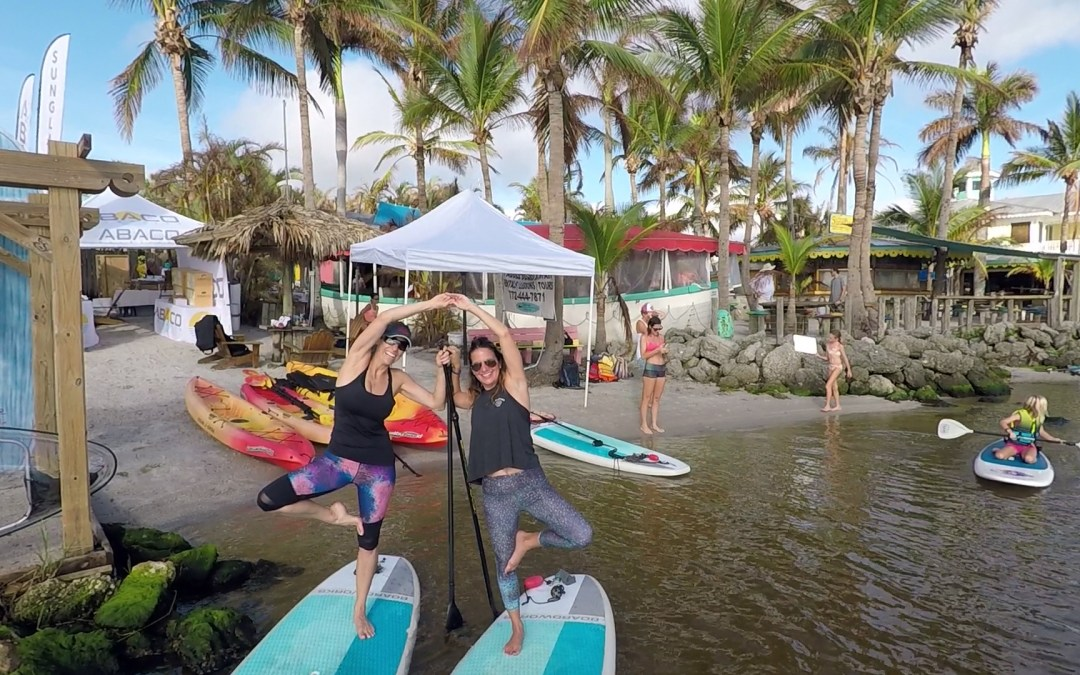 Paddle in Pink SUP Yoga