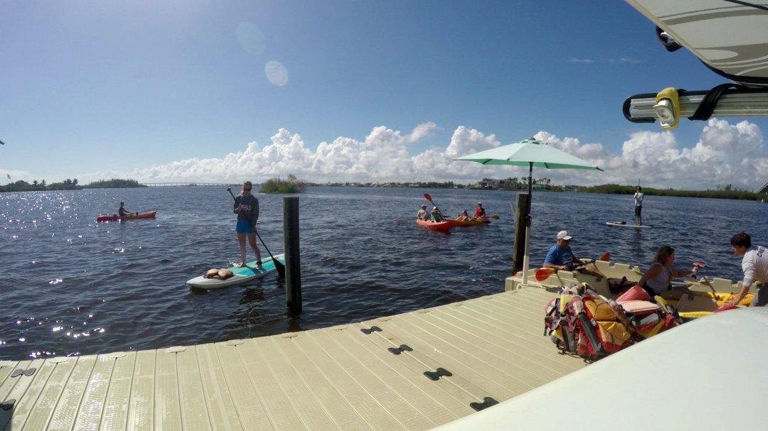 Paddle Board Tour and kayak Tour