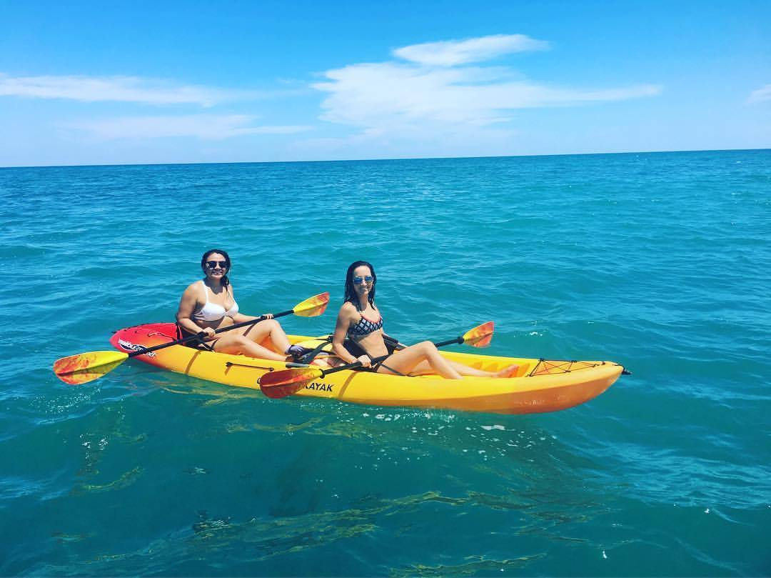 kayak rentals at the beach