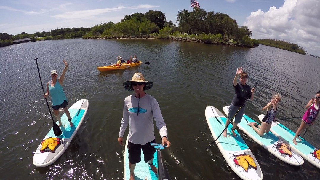 Paddle board and kayak tour