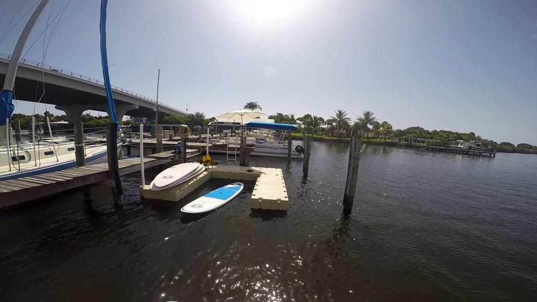 Riverside Dock first install