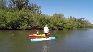 Paddle Boarding in Vero Beach