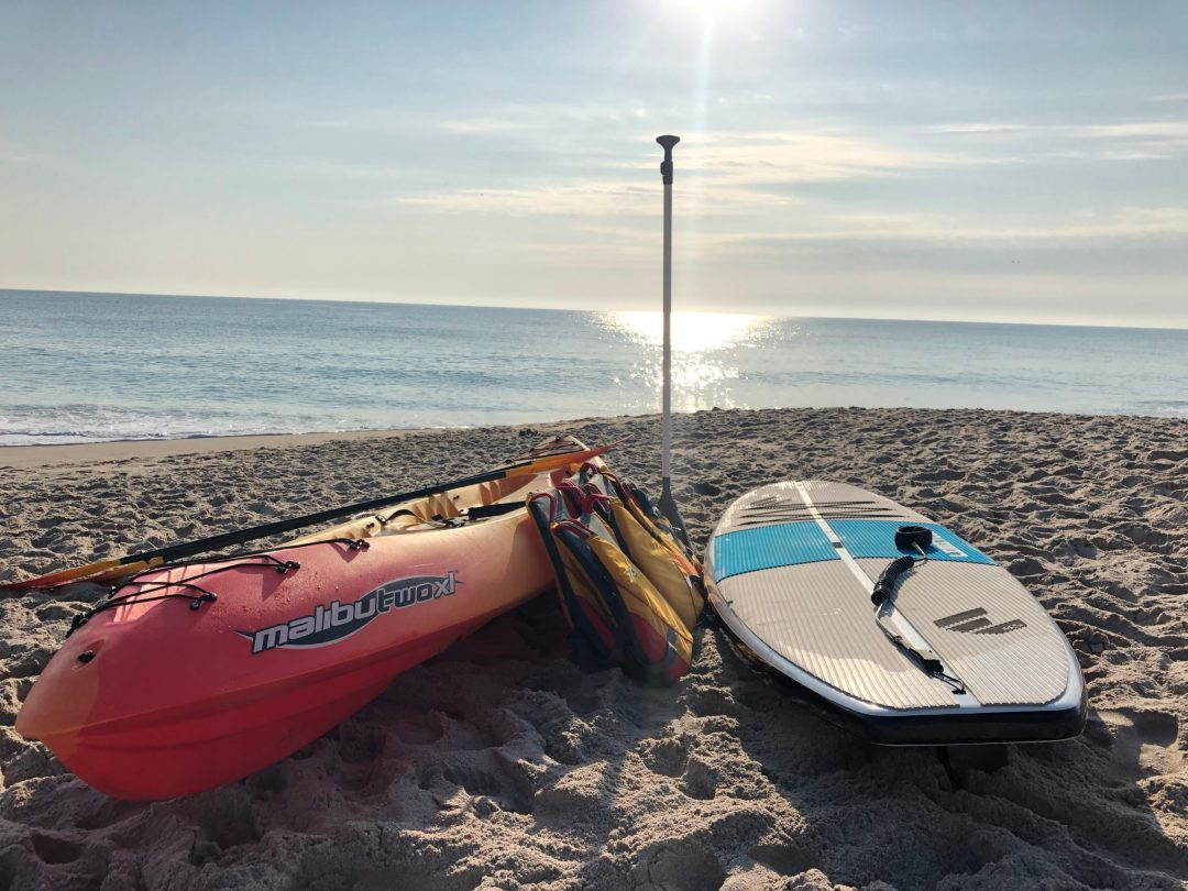 Paddle Board and Kayak at the beach at Holiday Inn Oceanside