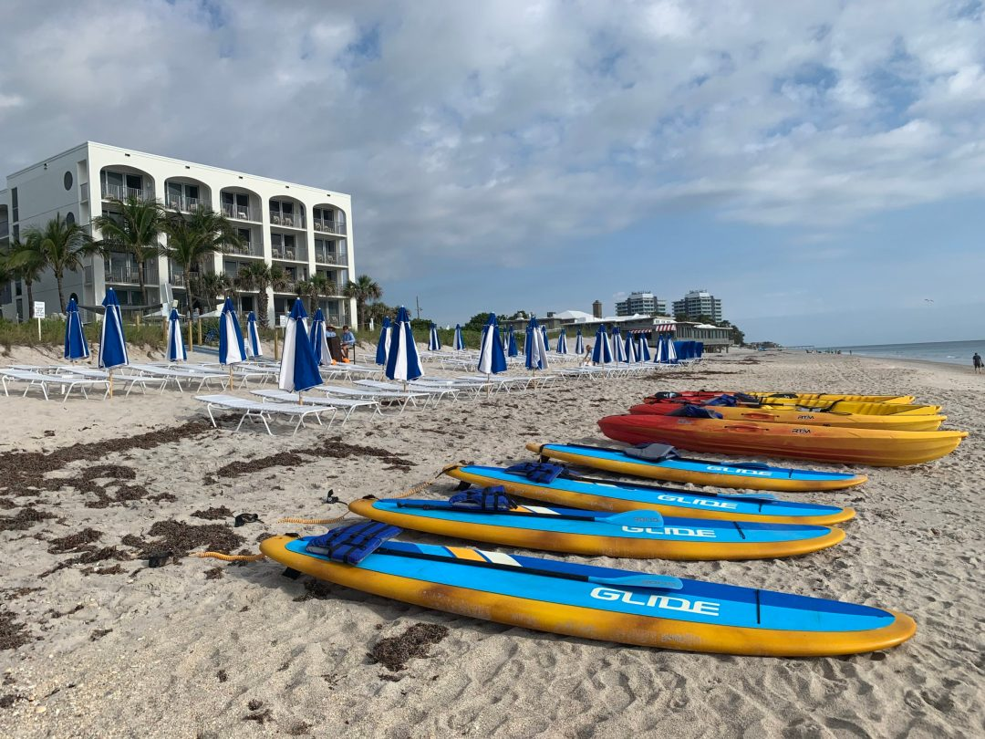 Paddle Board and Kayak at the beach of Costa d' Esta