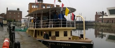 Steam Tug Daniel Adamson Nears Service