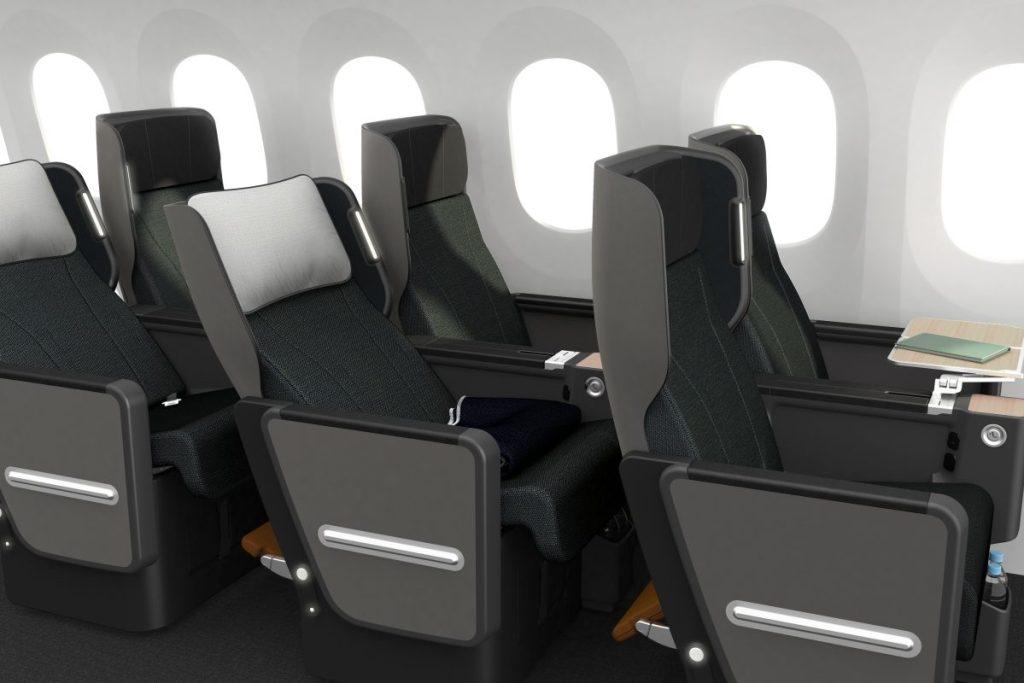 Qantas unveils new premium economy seat for Boeing 787 Dreamliner fleet