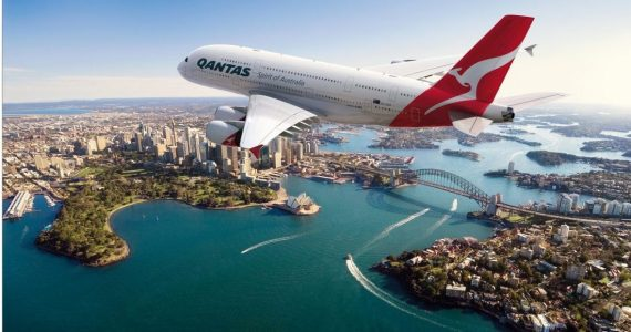 A summary of airline news from the past week. Qantas announces first half profits drop, new premium economy seats