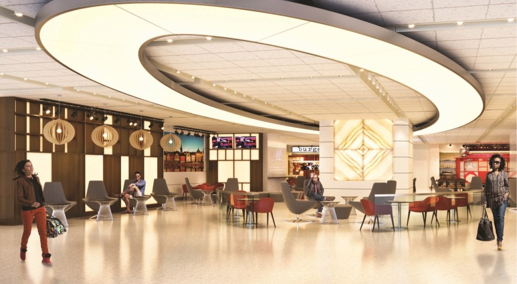 A rendering of the new British Airways JFK Terminal 7. Photo Credit: British Airways