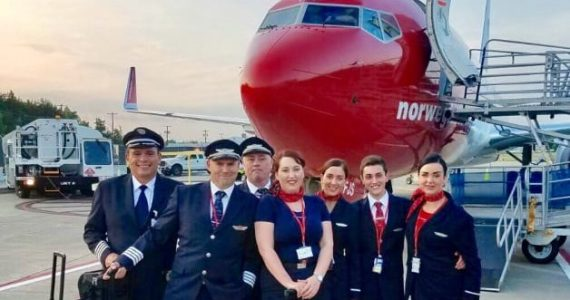 Hiring Now: Norwegian is Recruiting U.S. Cabin Crew for its Expanded Transatlantic Operation