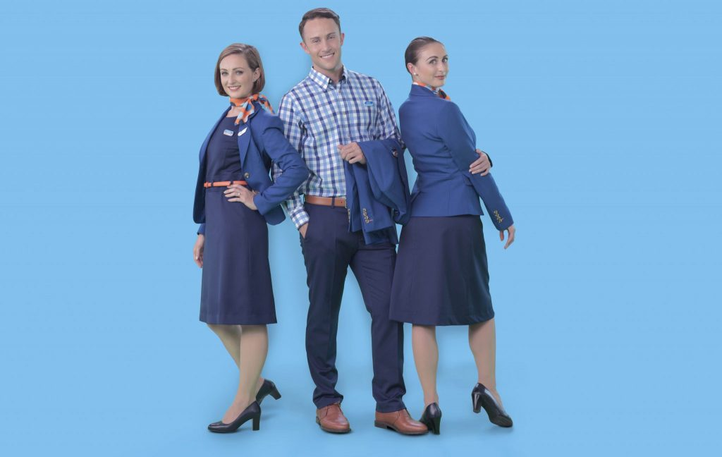 flydubai is using the phrase 'Look good. Feel better. Perform best.' to describe their new uniform. Photo Credit: flydubai