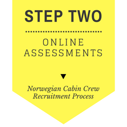 Norwegian Cabin Crew recruitment - step by step process 2017 - Step 2 - Online assessments