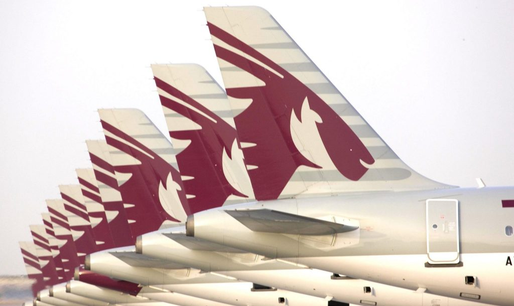 Qatar Airways has a fleet of xx aircraft. The average age is just five years - one of the youngest aircraft fleets in the world. Photo Credit: Qatar Airways