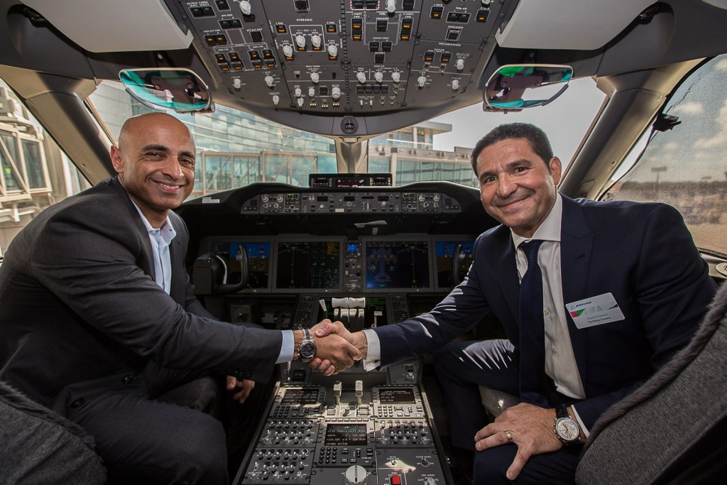Yousef Al Otaiba, UAE Ambassador to the United States visited a Boeing factory in Charleston on Thursday. Photo Credit: UAE Embassy in the United States