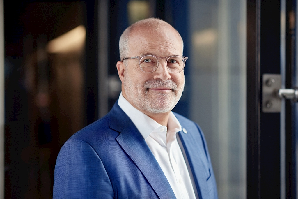 Perry Cantarutti is the Amsterdam-based chief executive of the Skyteam Alliance. He's been in the role for two years, having previously worked at Delta Air Lines.