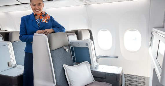 Fancy Going Fully Flat On a Low Cost Airline? flydubai Offers Just that Option - Shows Off its Brand New Boeing 737MAX
