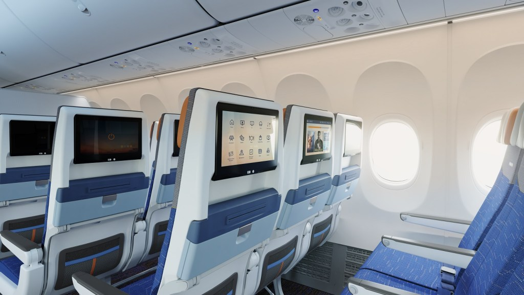 flydubai has also debuted its latest generation of in-flight entertainment system. Photo Credit: flydubai