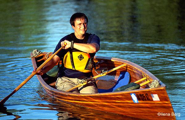 How to Solo a Tandem Canoe • PaddlingLight com