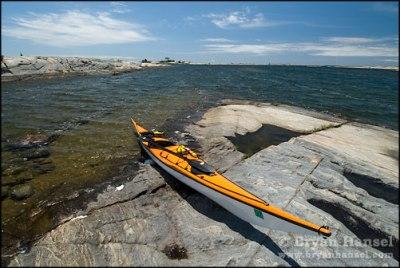Tahe Revel in Georgian Bay.