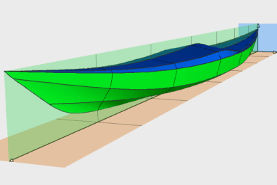 Siskiwit Bay Multi-Chine kayak plans
