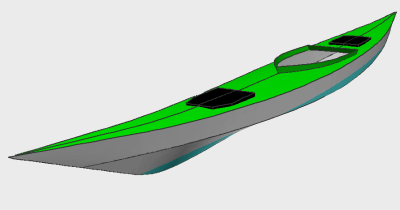 Free Walrus sea kayak plans.