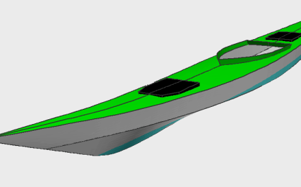 Free Walrus sea kayak plans.