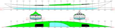 Walrus kayak linesplan