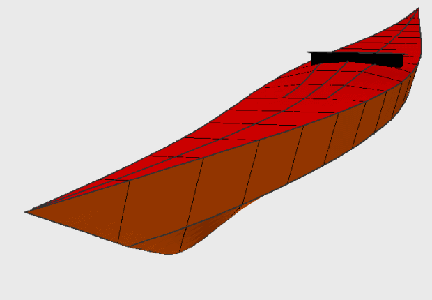 Free kayak plans for the Peabody Essex Museum kayak.