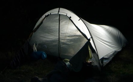 Tarptent Cloudburst 2 being reviewed in the BWCA.