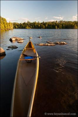 Bell Magic canoe in the BWCA.